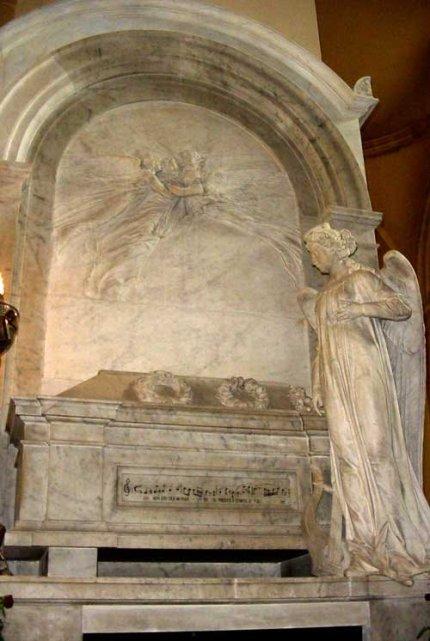 Tumba de Bellini en Catania