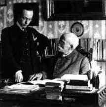 Robert Gerhard y Felipe Pedrell