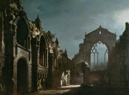 Ruinas de la capilla de Holyrood_(Walker Art Gallery, Liverpool, 1824)
