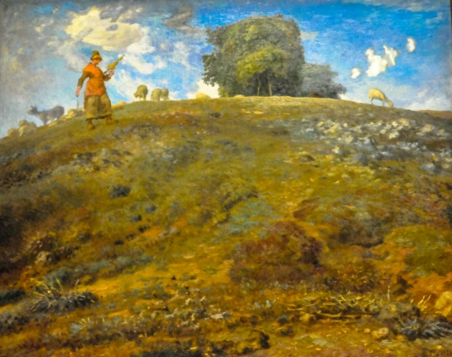 Jean-Francois Millet - In the Auvergne, 1869 at Art Institute of Chicago IL