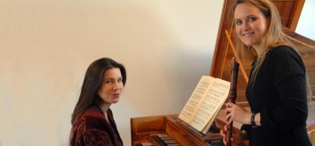 Amarillis. Heloise Gaillard y Violaine Cochard