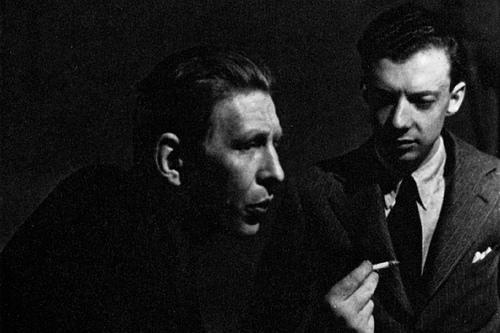 Auden y Britten, a finales de los 30