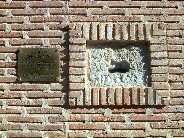 El buzón de Correos más antiguo de España