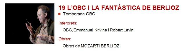 La OBC y la Fantástica de Berlioz en L'Auditori