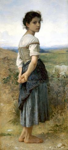 La jeune bergère (William Bouguereau)