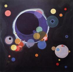 Varios círculos  (Kandinsky)