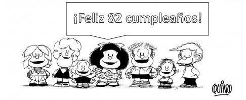 82 Cumpleaños Quino