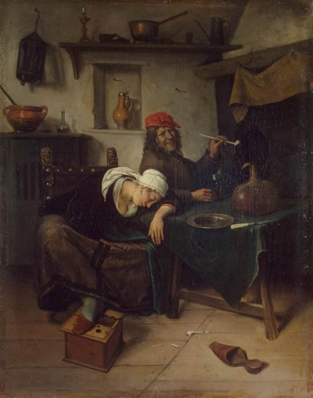 El bebedor (c.1660)