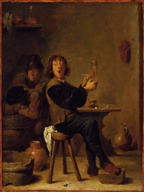 El fumador (c.1640)