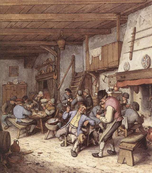Interior de taberna (1680)