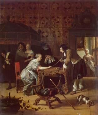 Jugadores de tric-trac