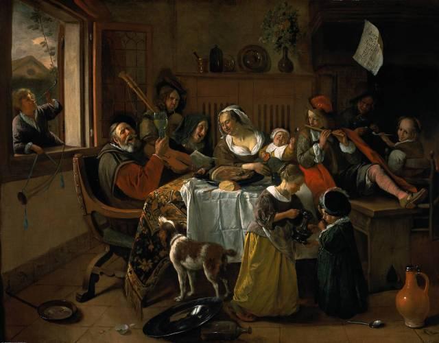 La familia feliz (1668)