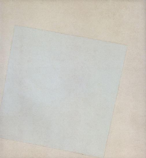 Malevich - White square