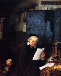 Abogado en su estudio