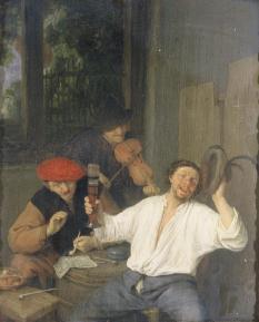 Los bebedores felices