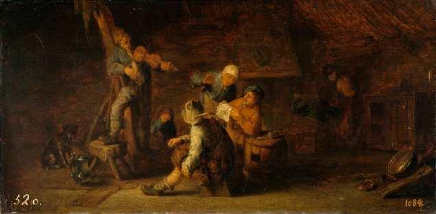 Fiesta en la aldea