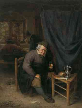 Interior de una taberna