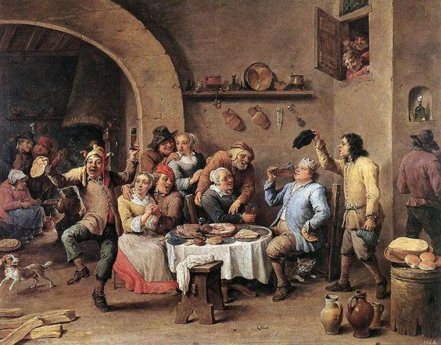 Duodecima noche (El rey bebe) (1634-1640)