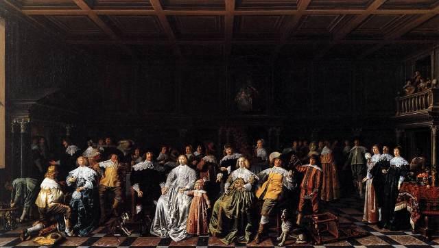 El matrimonio de Willem van Loon y Margaretha Bas (1637)