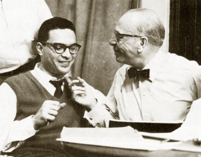 Leon Fleisher y George Szell