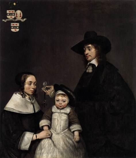 La familia Van Moerkerken (1653-54)