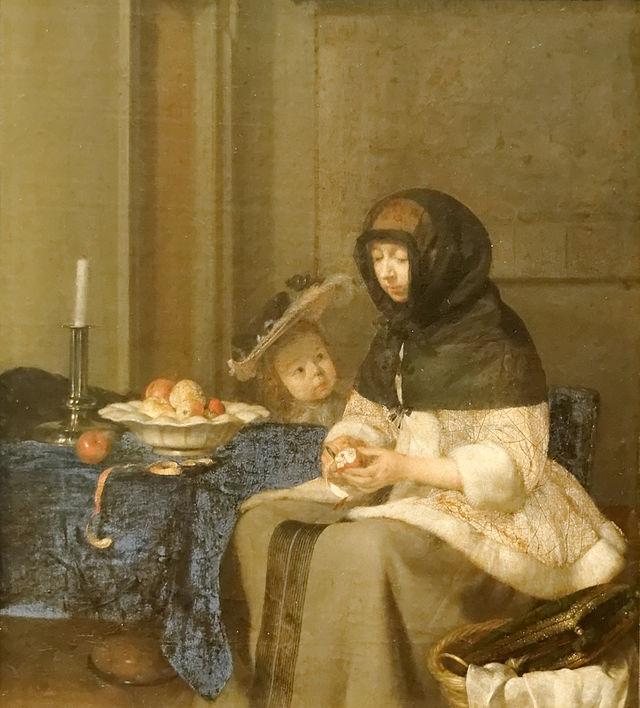 La peladora de Manzanas (1665)