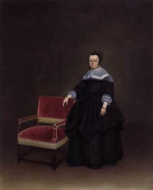 Margaretha van Haexbergen, esposa de Jan van Duren