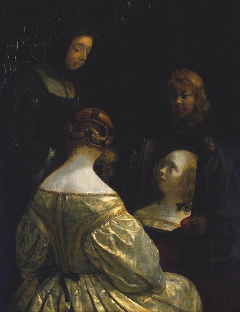 Mujer en el espejo (c.1650)