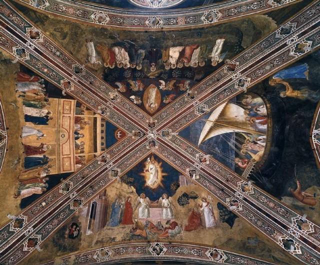 Andrea da Firenze (Cappellone degli Spagnoli, Santa Maria Novella, Firenze)