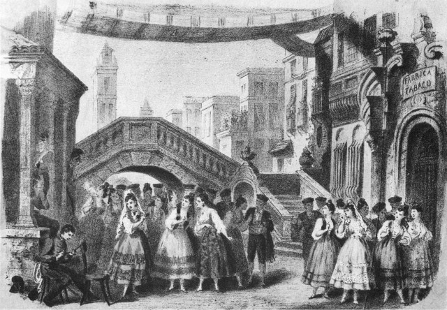 Carmen_1875_Act1_lithography