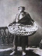 Jewish bagel vendor