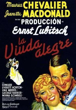 La viuda alegre - Lubitsch
