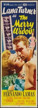 The merry widow - Lana Turner