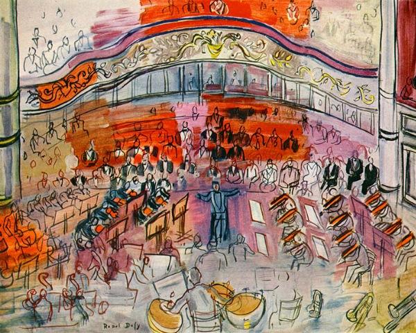 Orquesta (Raoul Dufy)