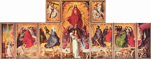 van der Weyden - Políptico del Juicio final