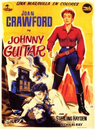 Johnny Guitar - una maravilla en colores