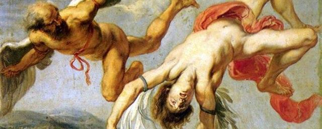 La caída de Ícaro (fragmento) (Jacob Peeter Gowy, 1636-1638)