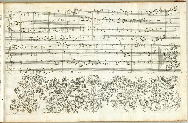 Johann Sebastian Bach's Kunst Der Fuge. First Edition, Contrapunctus 1, Pg.12