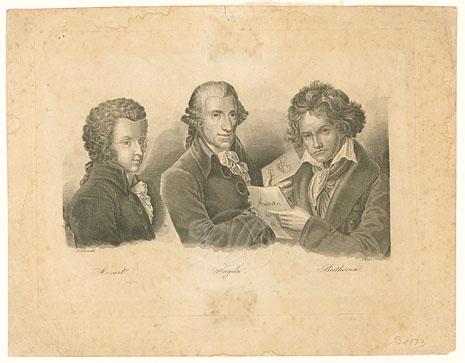 Mehl, F.: Mozart, Haydn, Beethoven - nach Schein