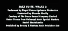 Jazz Suite Eyes Wide Shut