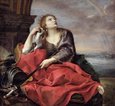Sacchi, Andrea - La muerte de Dido