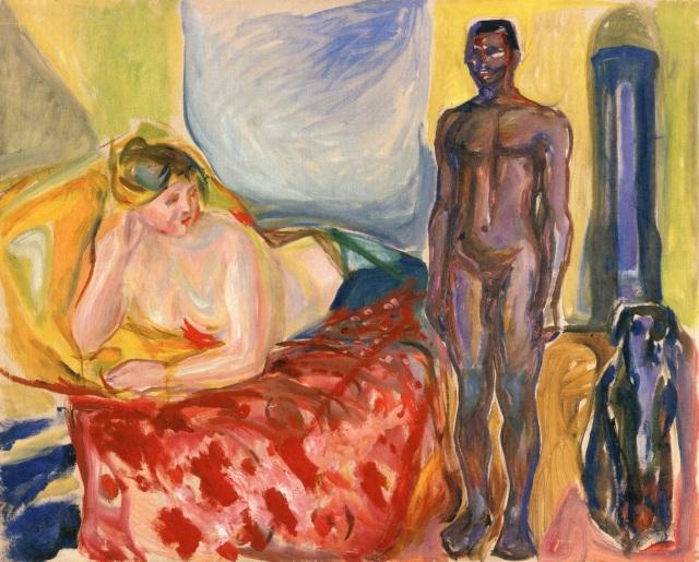 Cleopatra y el esclavo (Munch, 1916-1921)