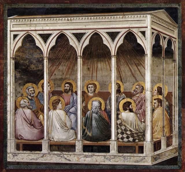 Giotto di Bondone - Pentecostés.