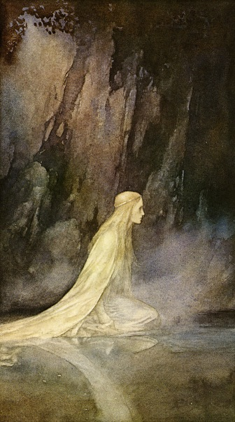 The Lady of the lake (Alan Lee)