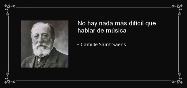 Cita Saint Saens