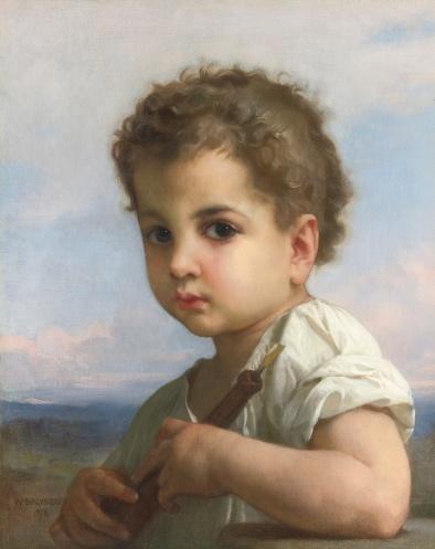 Flautista - William Bouguereau (1878)