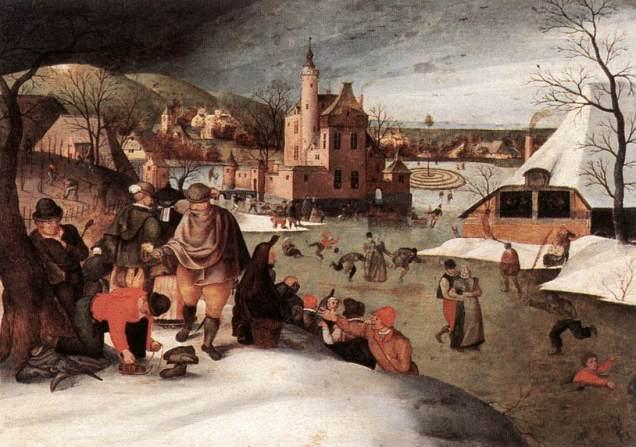 Invierno (Abel Grimmer, 1607)