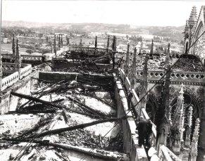 Catedral quemada