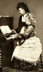 Josefina y Ana Cermáková