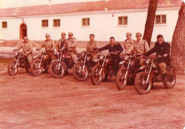 Quintos en moto